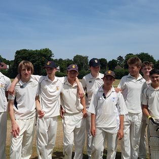 RCC U15s: Purley nailbiter goes to final over!