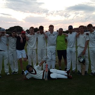 RCC U16s: Chalking it up to experience!