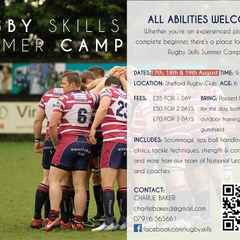 Summer Rugby Camps - DATE CHANGES