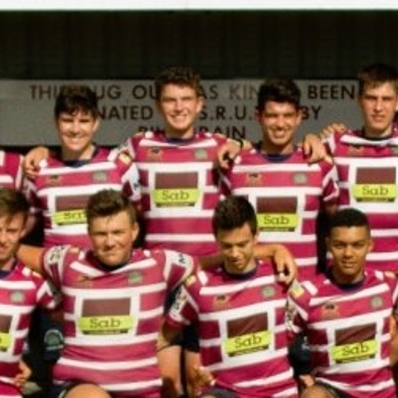 Shelford Rugby Club....founded 1933 vs. Ipswich ECPlate