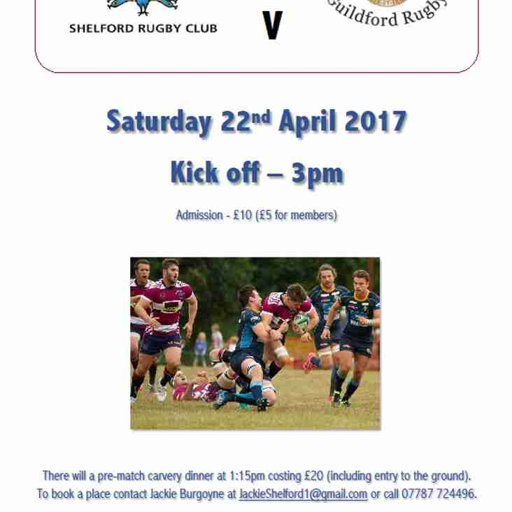 Last Match of the Season for the 1st XV