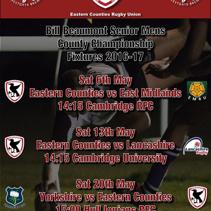 Eastern Counties Fixtures