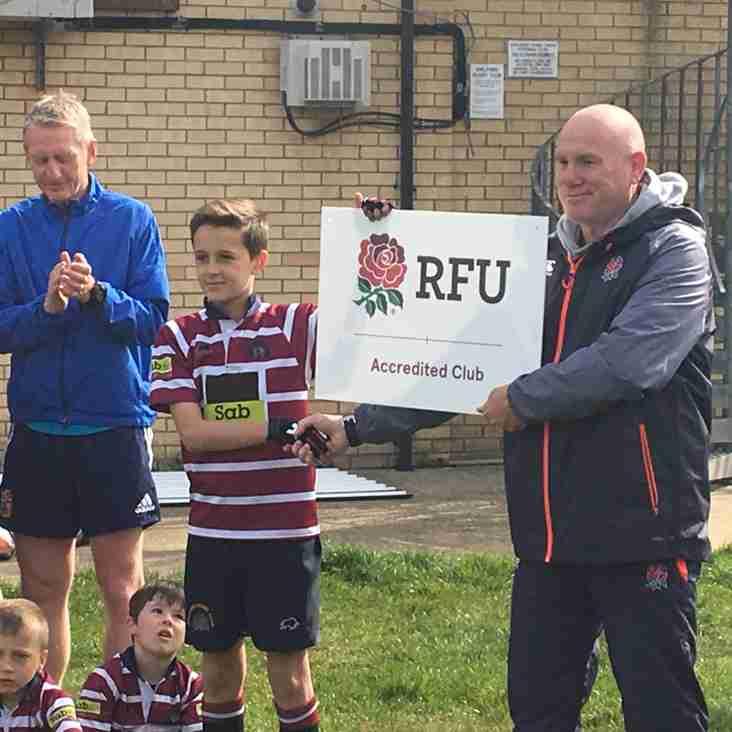 Shelford earn RFU Accreditation