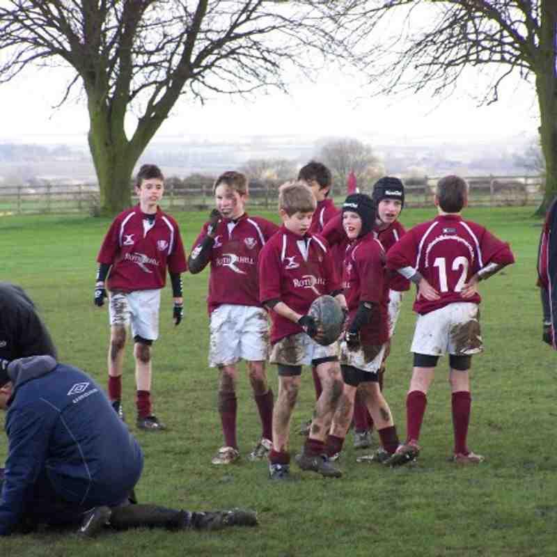 U13's v Leicester Lions