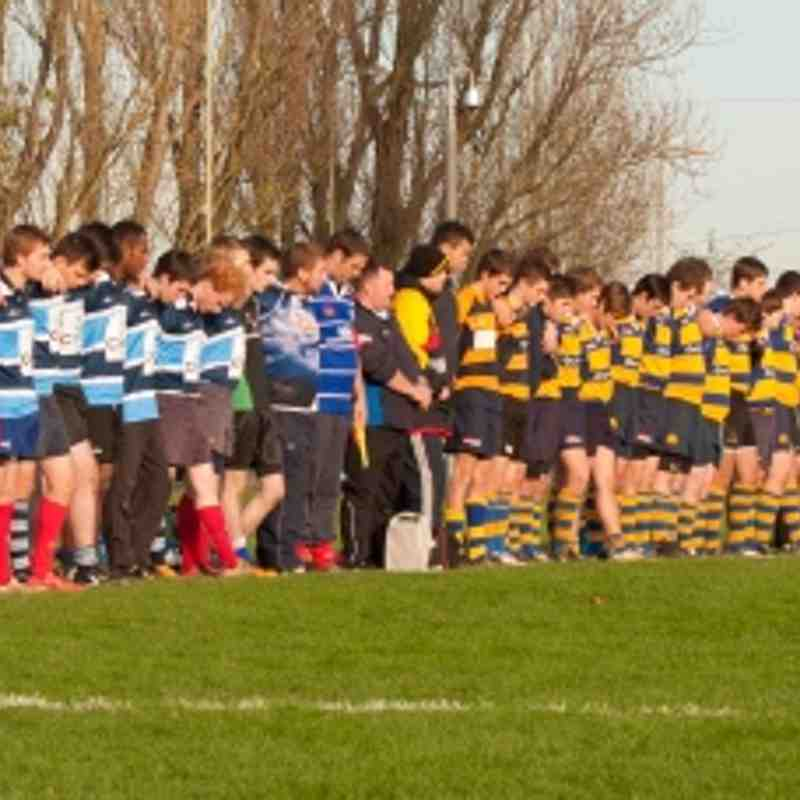 Romsey Colts v Barbarians