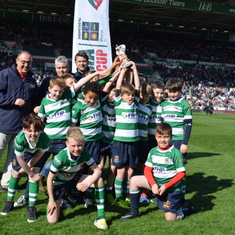 """Nottingham Corsairs RFC  U10's triumph at Welford Road!"