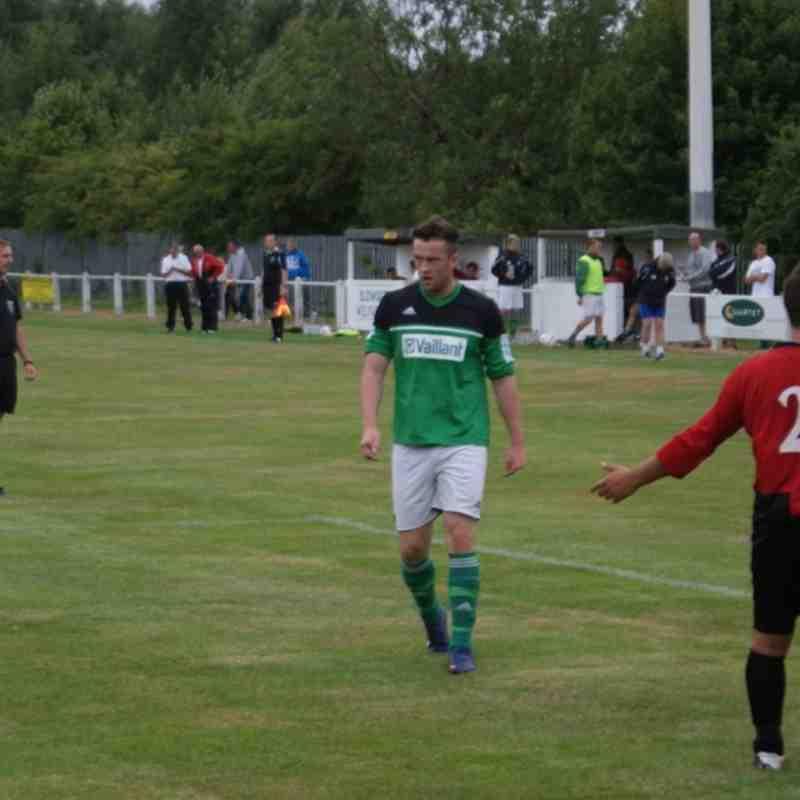 Blidworth Welfare 1 Belper United 3 - 17/08/13