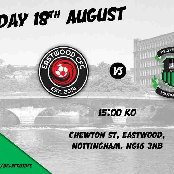 MATCH PREVIEW - Eastwood Community FC