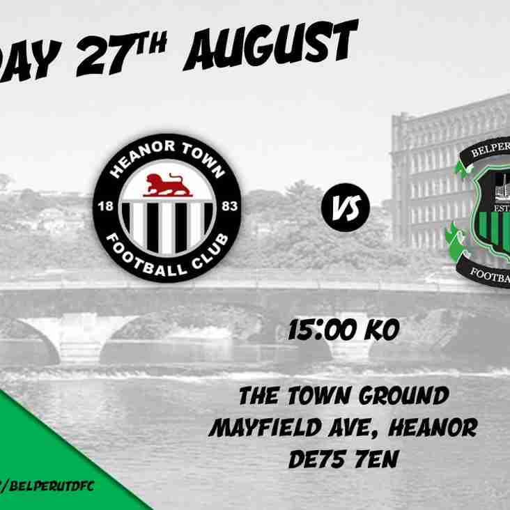 MATCH PREVIEW (BANK HOLIDAY FOOTBALL) - HEANOR TOWN FC