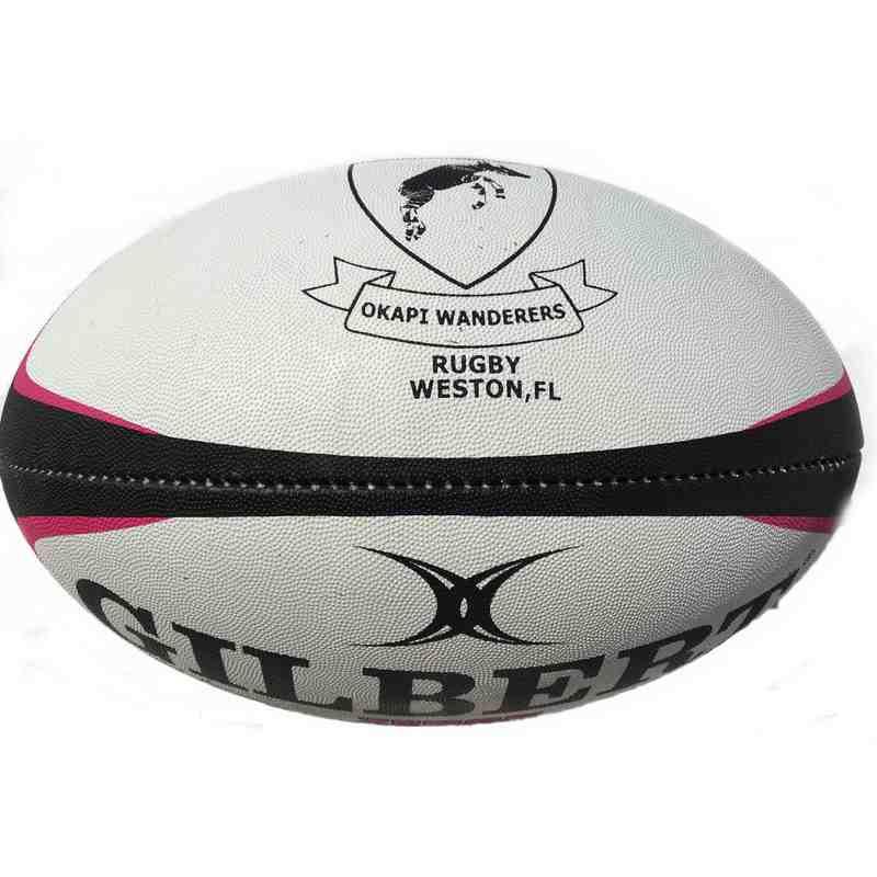 Okapi Wanderers RFC Rugby Ball Gilbert