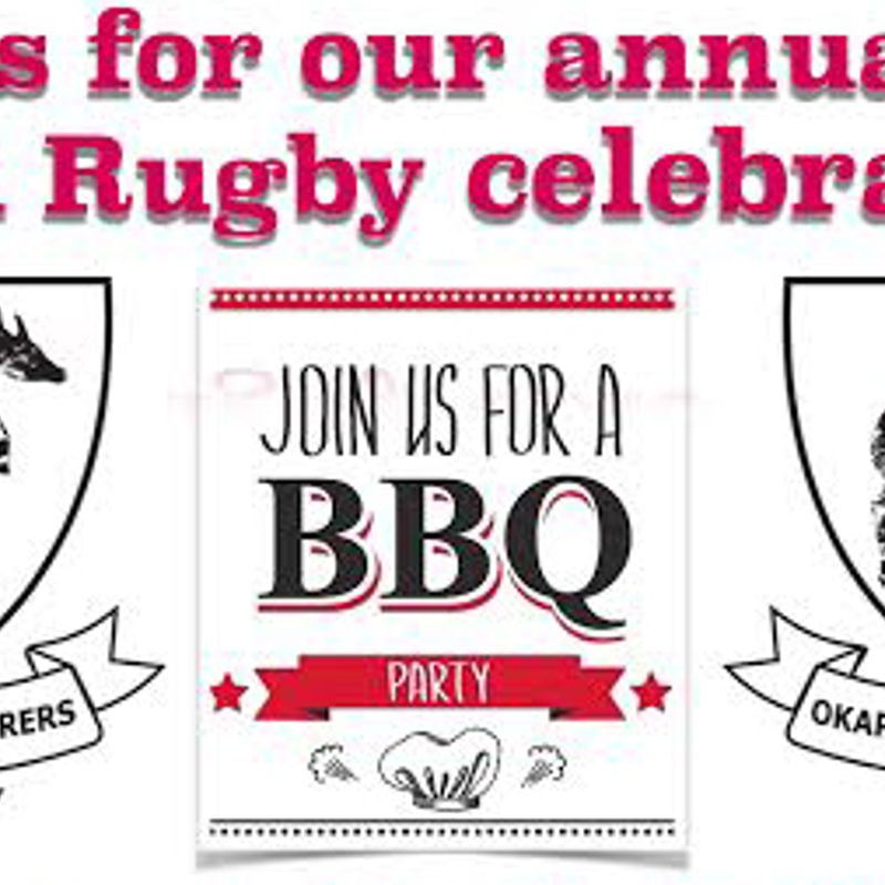 Saturday May 13th 2017 Okapi Wanderers Rugby FC end of season BBQ celebration at Weston Regional Park.