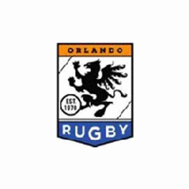 Saturday November 10th 2018 Okapi Wanderers Rugby FC Men vs Orlando Rugby.