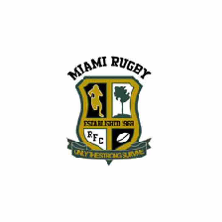 Saturday February 24th 2018 Okapi Wanderers Rugby FC Men vs Miami  Rugby FC.