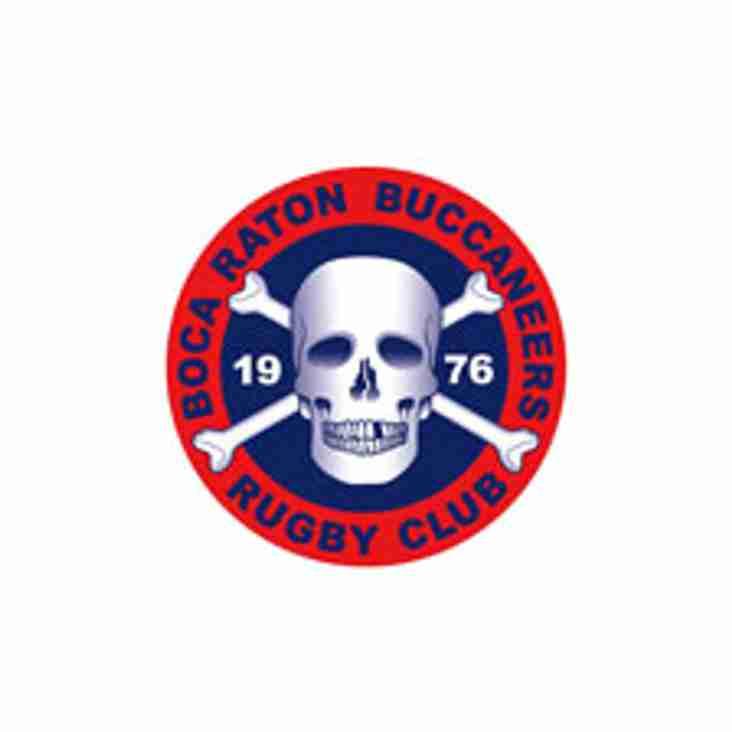 Saturday November 3rd 2018 Okapi Wanderers Rugby FC Men vs Boca Raton Buccaneers.