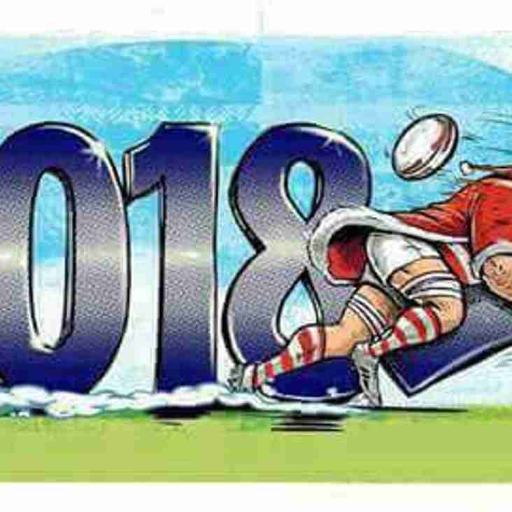 Okapi Wanderers Rugby FC  wishes everyone a Happy 2018. We will resume training on January 9th 2018.