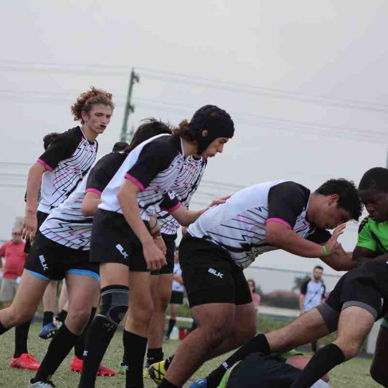 Saturday January 27th 2018 Okapi Wanderers Rugby FC U17 vs Welligton Wizards U17 (1)