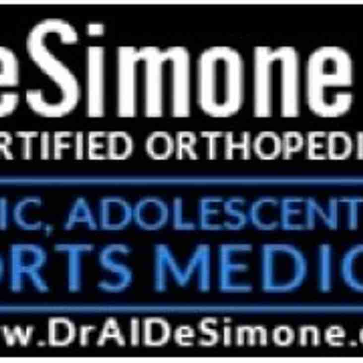 Thank you Dr Al DeSimone and Eric Bronson PA-C for your continued support to Okapi Wanderers Rugby FC.