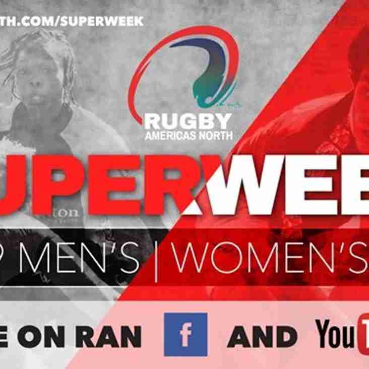 Rugby Americas North Tournament Superweek U19 Men's and Women's 10.