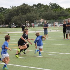 Saturday December 1st 2018 Okapi Wanderers Rugby FC U9 vs Key Biscayne Rugby