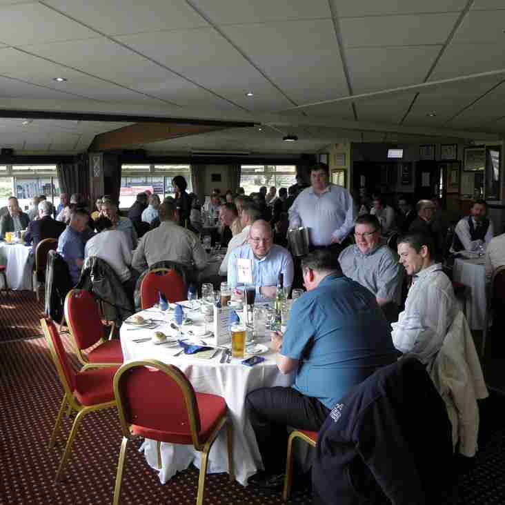 Pre-match lunches for the 2018/19 season