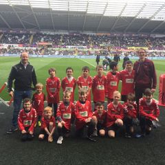 Liberty Stadium - Shire Colts Guard of Honour