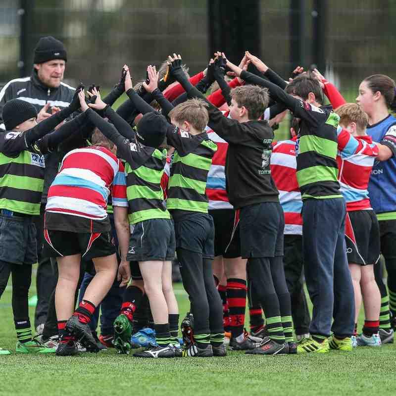 Guernsey Rugby Academy U11's v Jersey 2015