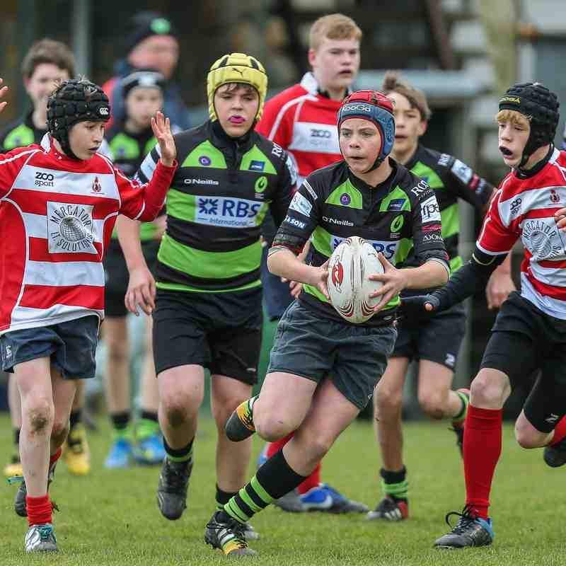 Guernsey Rugby Academy U13 v Crowborough 2015