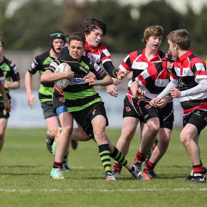 RBSI Guernsey Rugby Academy U15's Siam Festival 2015