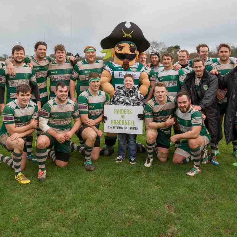 Guernsey Raiders v Eton Manor 2016 with Rocky's unveiling.