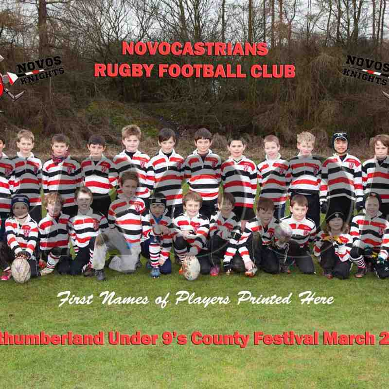 U9s Knights Team Photo