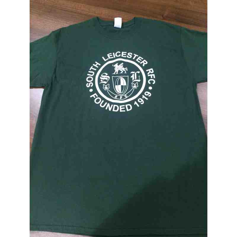 South Leicester RFC logo t-shirts