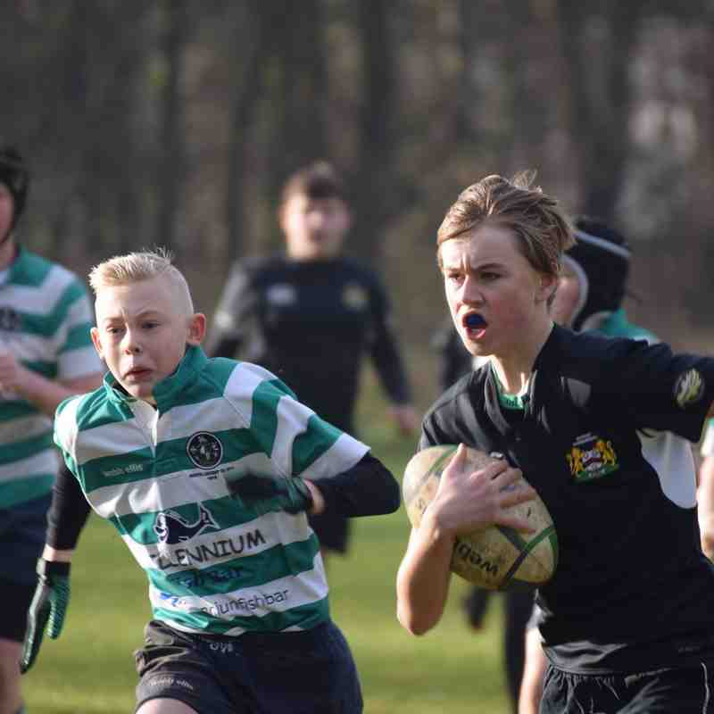 South u13s v Market Harborough Jan 2017
