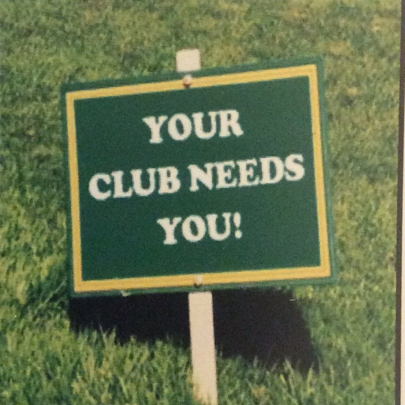 Your Club Needs YOU !!!