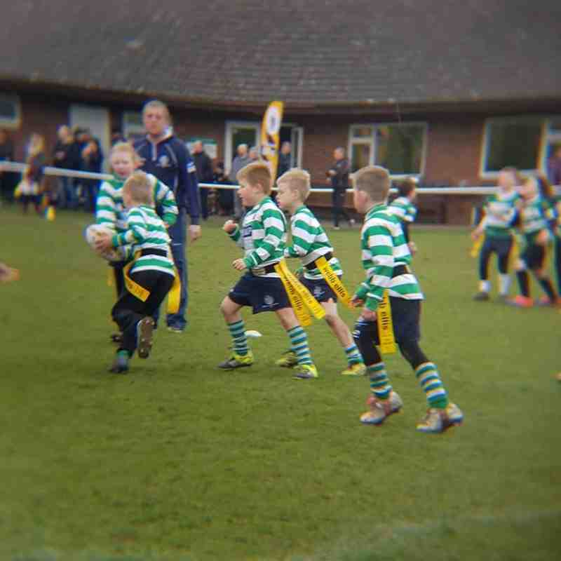 South u8s at Hinckley Festival April 2018