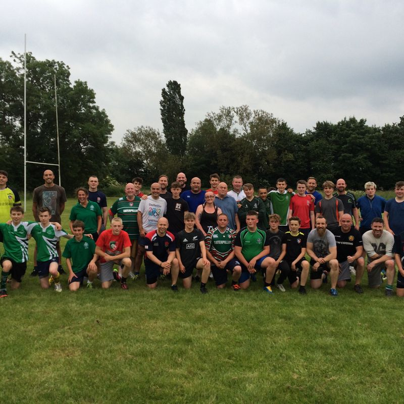 Touch Rugby heroes !