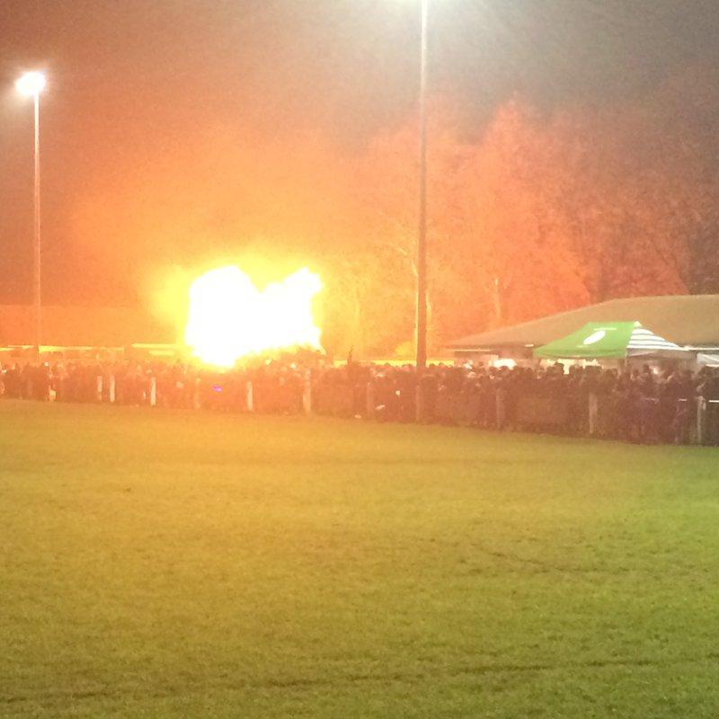Fantastic Bonfire Night at South !