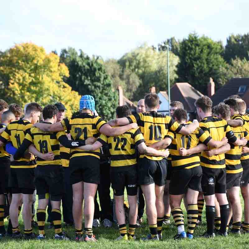 Colts - Walsall 10 v SRUFC 29. 16/10/16