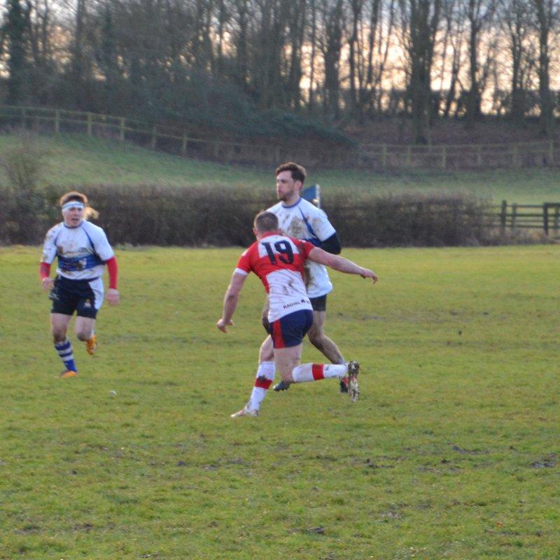 2nd XV v Wellingborough RFC - 14/01/2017 (Part 1)