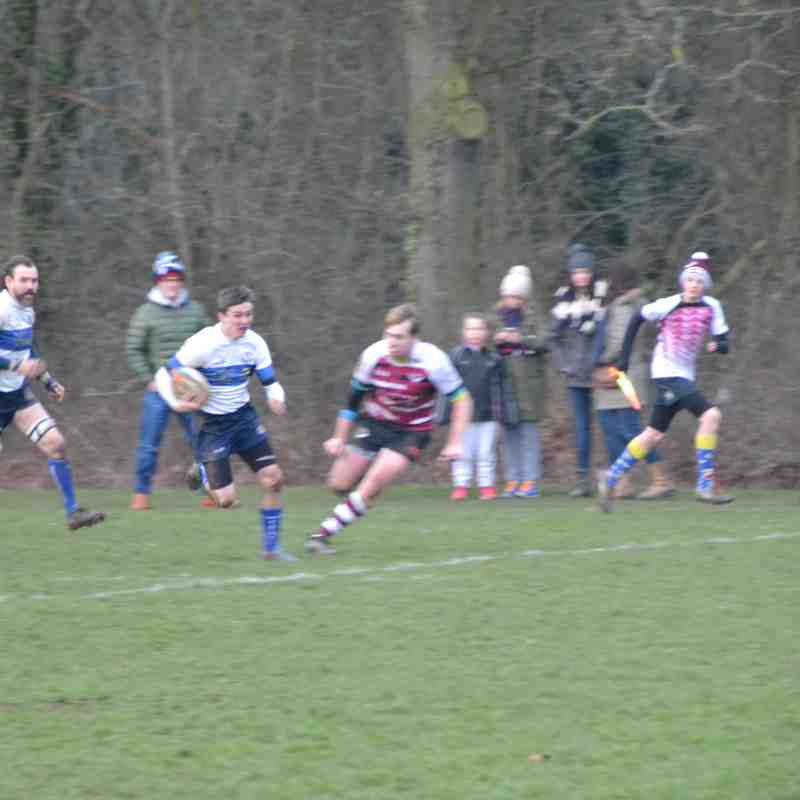 1st XV vs Bedford Queens - 13/01/2018