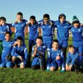 Under 13 Eagles beat Whiteknights FC Falcons 5 - 0