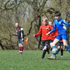 Whiteknights U12 Eagles vs Caversham Stallions 02/04/16