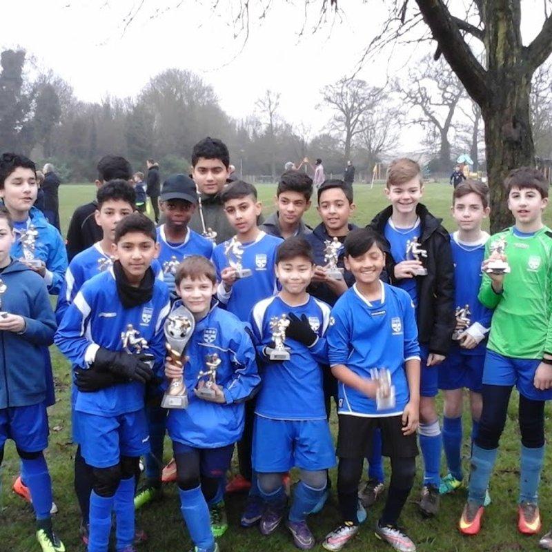 U14 Eagles beat Maidenhead Boys FC 3-1