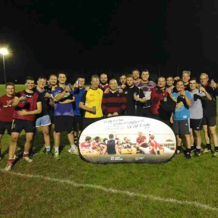 'RETURN TO RUGBY' AT LEGENDS LANE