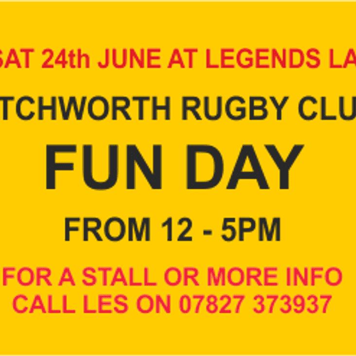 LETCHWORTH RFC FUN DAY
