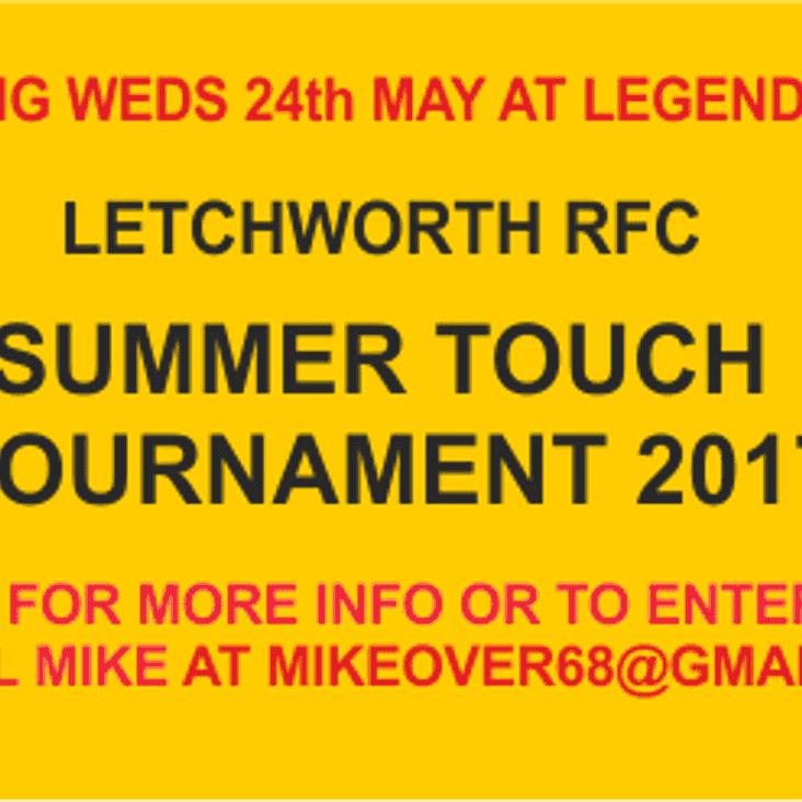 Summer Touch Tournament 2017
