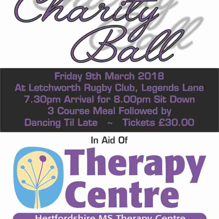Charity Ball on Friday 9th March