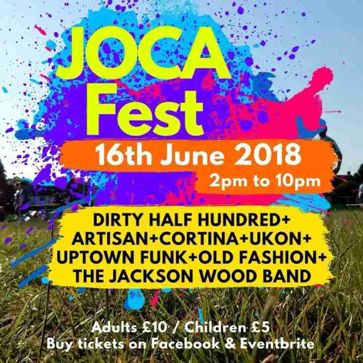 JOCA Fest 16th June 2018