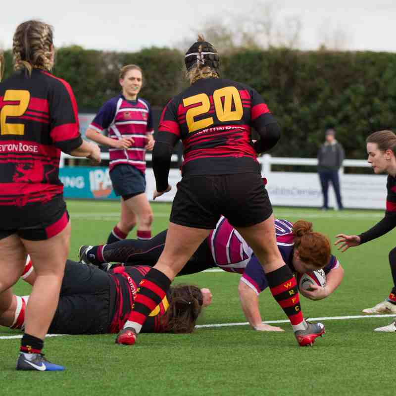 Shelford Ladies v Wymondham (04/02/2018) by Cat Goryn