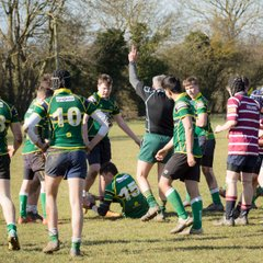 Shelford U15 v Huntingdon U15 (25/02/2018)