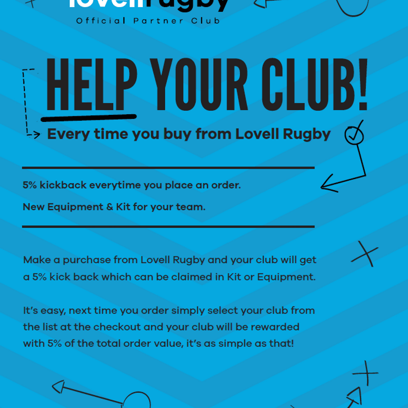Shelford in partnership with Lovell Sport